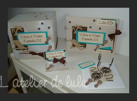 Decoration mariage les voyages les iles l 39 atelier de for Decoration voyage
