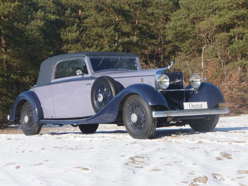 1935 hispano suiza type k6 - 30 cv