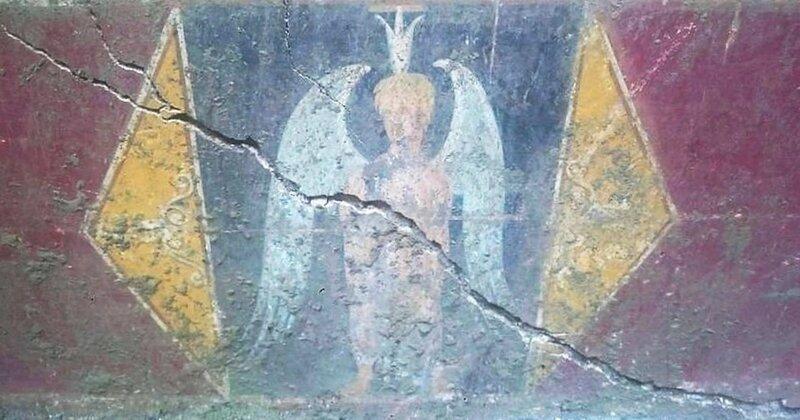 fresque gallo-romaine AVIGNON _3