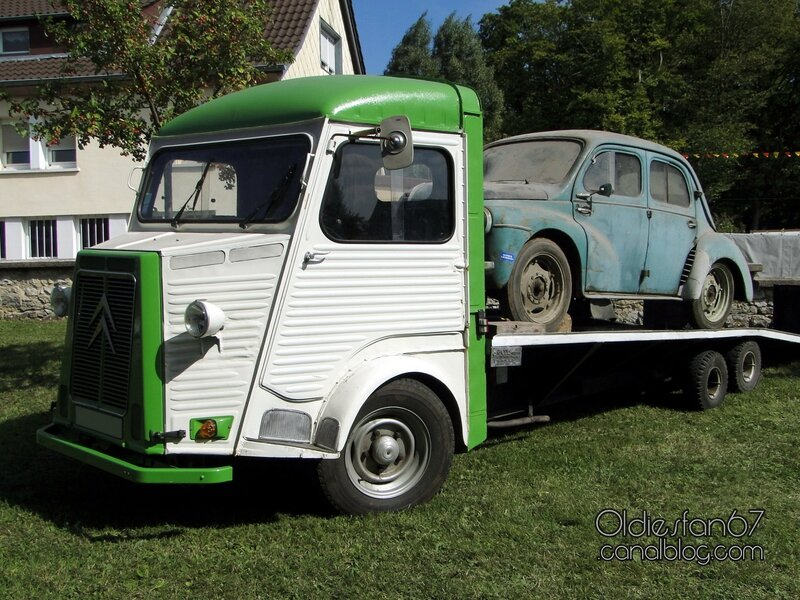 citro n hy plateau renault 4 cv oldiesfan67 mon blog auto. Black Bedroom Furniture Sets. Home Design Ideas