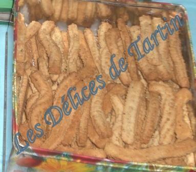 les spritz, petits gâteaux traditionnels alsaciens par excellence
