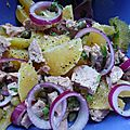 Salade orange-thon, pas de saison mais trop bon !