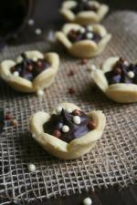 Tartelettes fleur au chocolat - Passion culinaire Minouchka 5