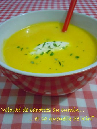 velouté carottes-cumin et sa quenelle kiri (228)