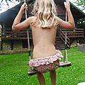 Maillot de bain fillette : chaleurrrrrr .....le bikini liberty est de sortie !