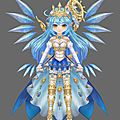 Projet cosplay valkyrie, twin saga