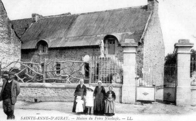 Sainte Anne d'Auray, maison de Nicolazic