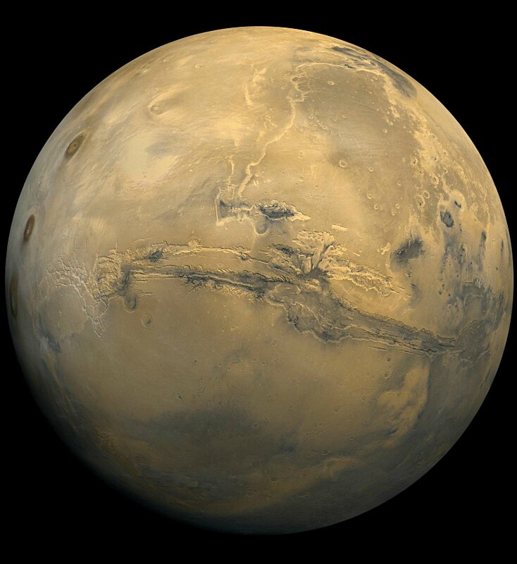 Mars photographiee par la NASA