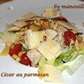 Salade césar au parmesan