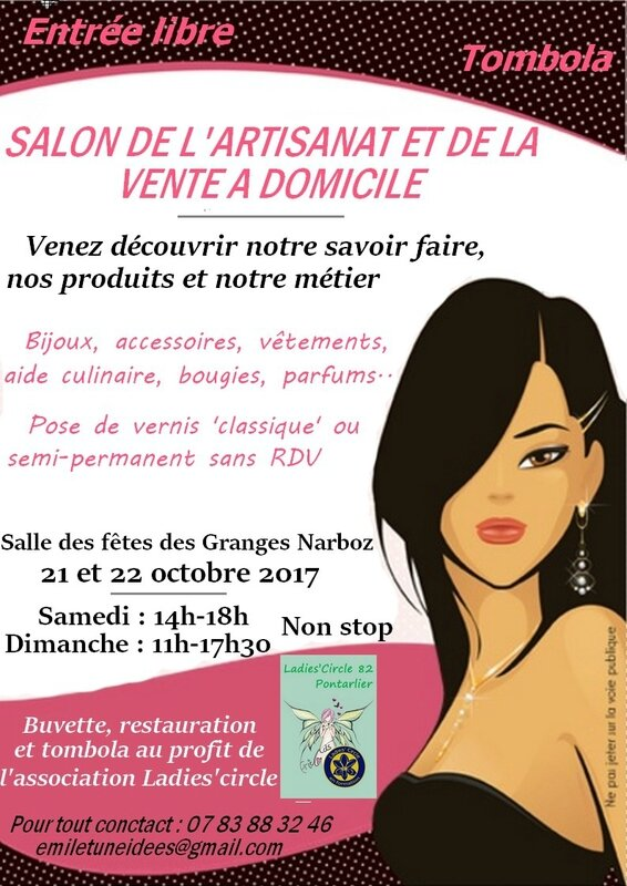 affiche salon-flyers x 20