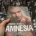 Amnesia - jennifer rush