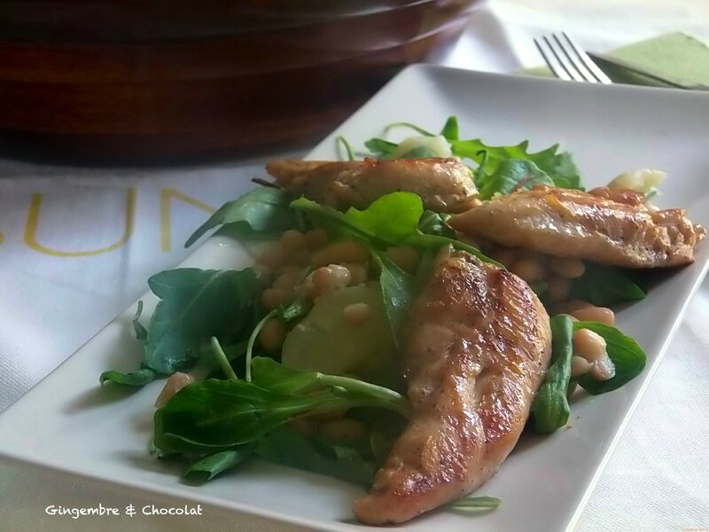 saladeharicotpoulet1
