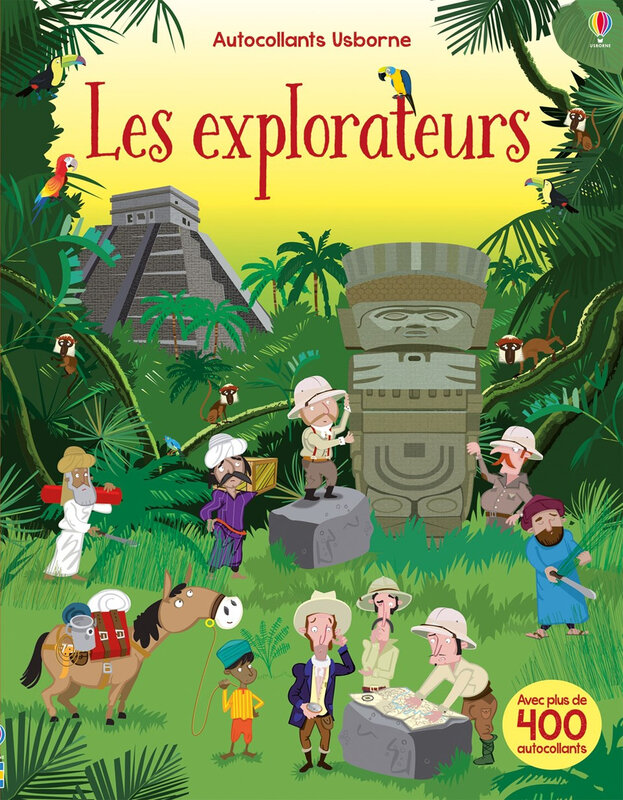 explorateur usborne