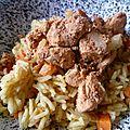 Poulet a la réunionaise (un peu tandoori aussi quoi)