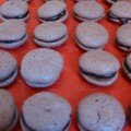 mes derniers macarons au choc'