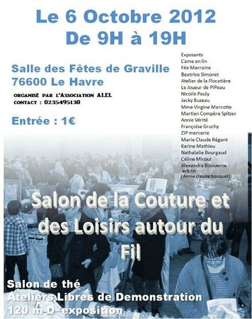 affiche jean yves salon de la couture