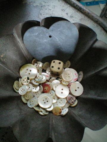 boutons de nacre