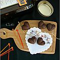 Chocolats au cointreau - chocolates rellenos al cointreau