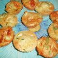 Muffins aux courgettes et au maroilles