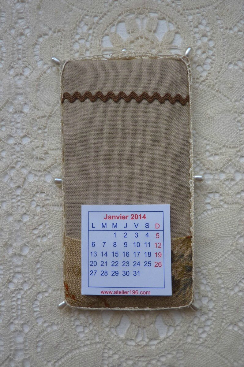 Pinkeep calendrier par Bill