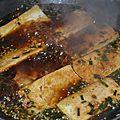 Tofu à la sauce soja façon coréenne