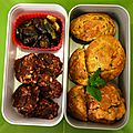 Muffin courgette-feta menthe et no bake cookies