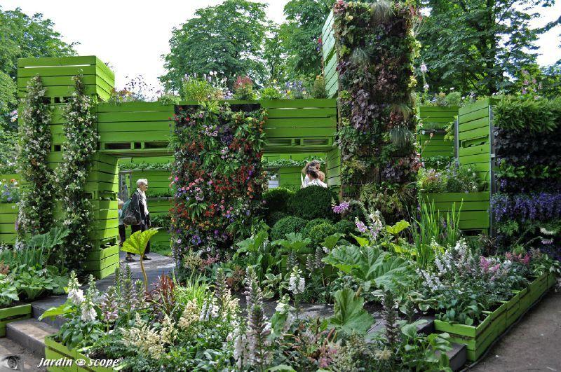 Aux tuileries les tendances du jardin urbain le - Les jardins de gally ...