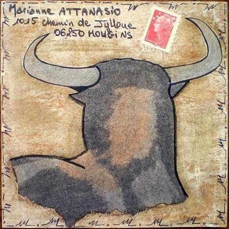 205~Taureau pour Marianne