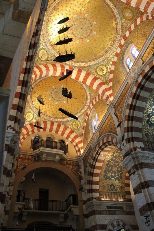 Intérieur Basilique de Notre Dame de la Garde