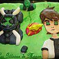 Gâteau Ben 10 omnitrix