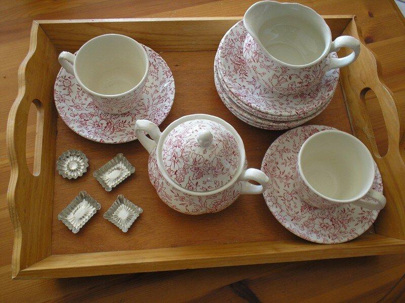 belle vaisselle anglaise - créativité et gourmandise