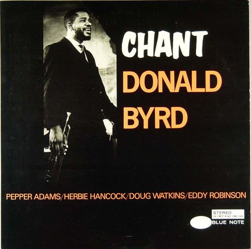 donald byrd - chant (sleeve art)