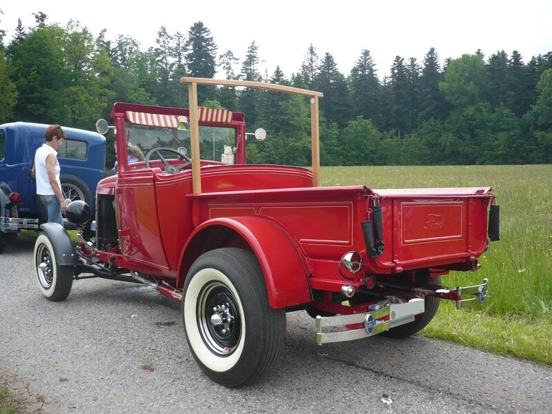 FORD Model A 2door roadster pick-up Hot Rod Bad Teinach - Schmieh (2)