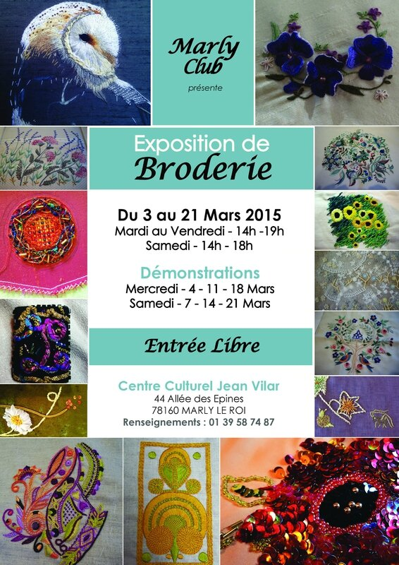 expodebroderie Marly-le-Roi