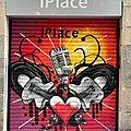 Barcelone, art urbain, Coeur_6370