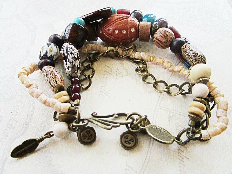 bracelet nature et graines 1