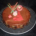 Un gâteau pour dévoiler sa passion...