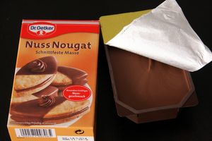 Nougat Masse 1