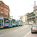 Katowice, tramway et ma bagnole (Pologne)