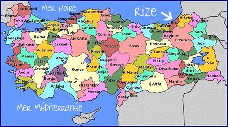 map_of_turkey___Rize