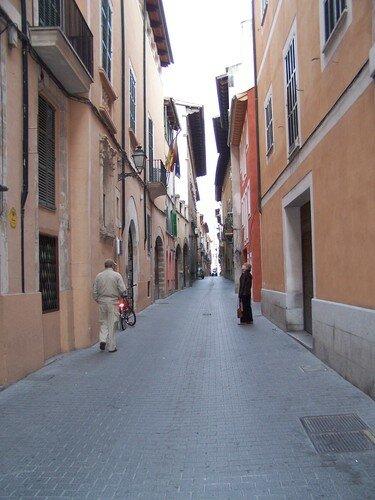 Palma-ruelle centre historique