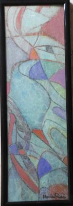 31x11 aquarelles et papier soie