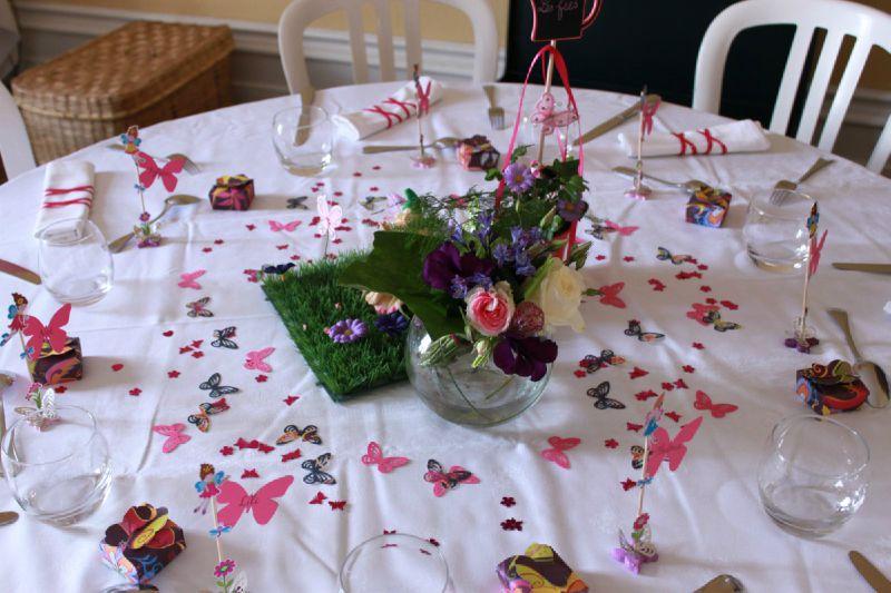 B Mariage Th Me F Es Table Rose Photo De D Coration D