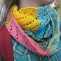 snood au crochet