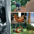 Johan baudart _ sculptures sur metal, gravures, peintures