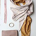 Le foulard triangle - tuto