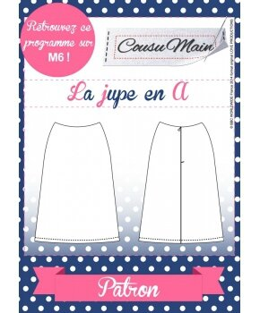 Made in Me Couture - Jupe A Cousu Main