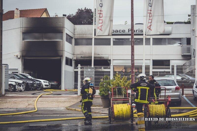 Incendie Audi N7