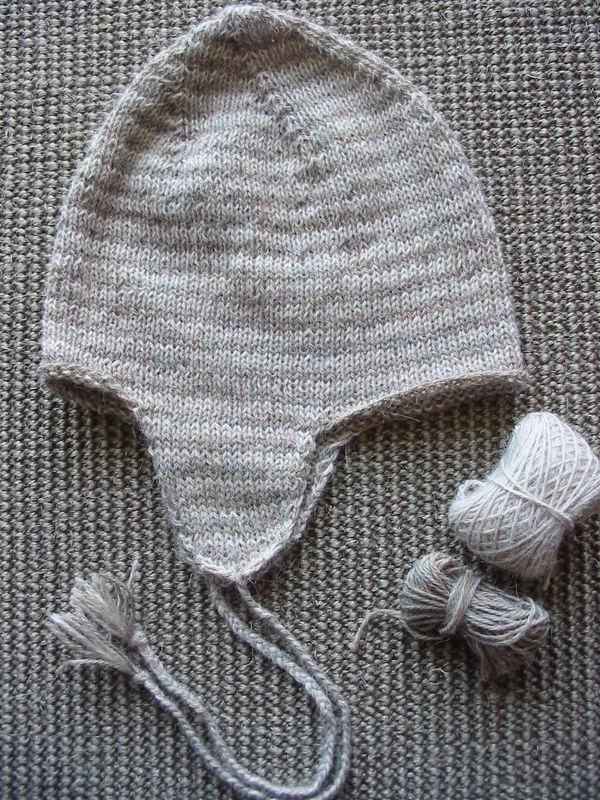bonnet péruvien en alpaga nèfle et falaise