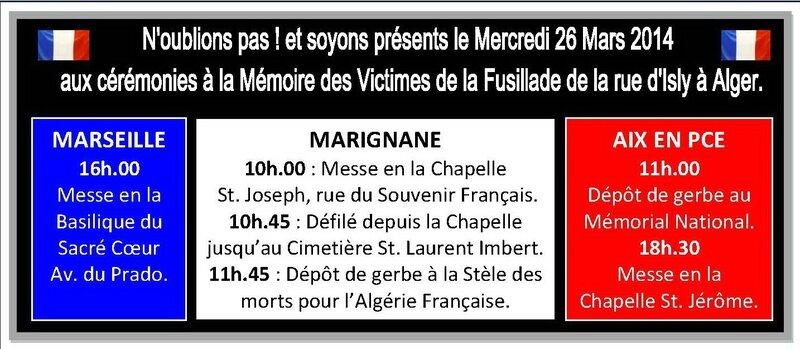26 mars 2014 Marseille Marignane Aix